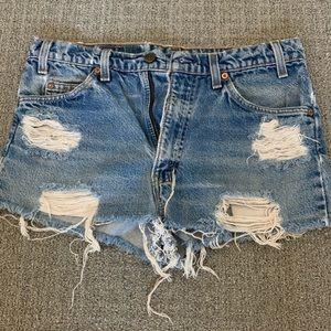 Levi's Jean Shorts 34x30